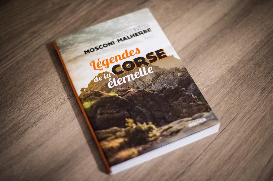 book cover Légendes de la Corse éternelle Jacqueline Mosconi-Malherbe